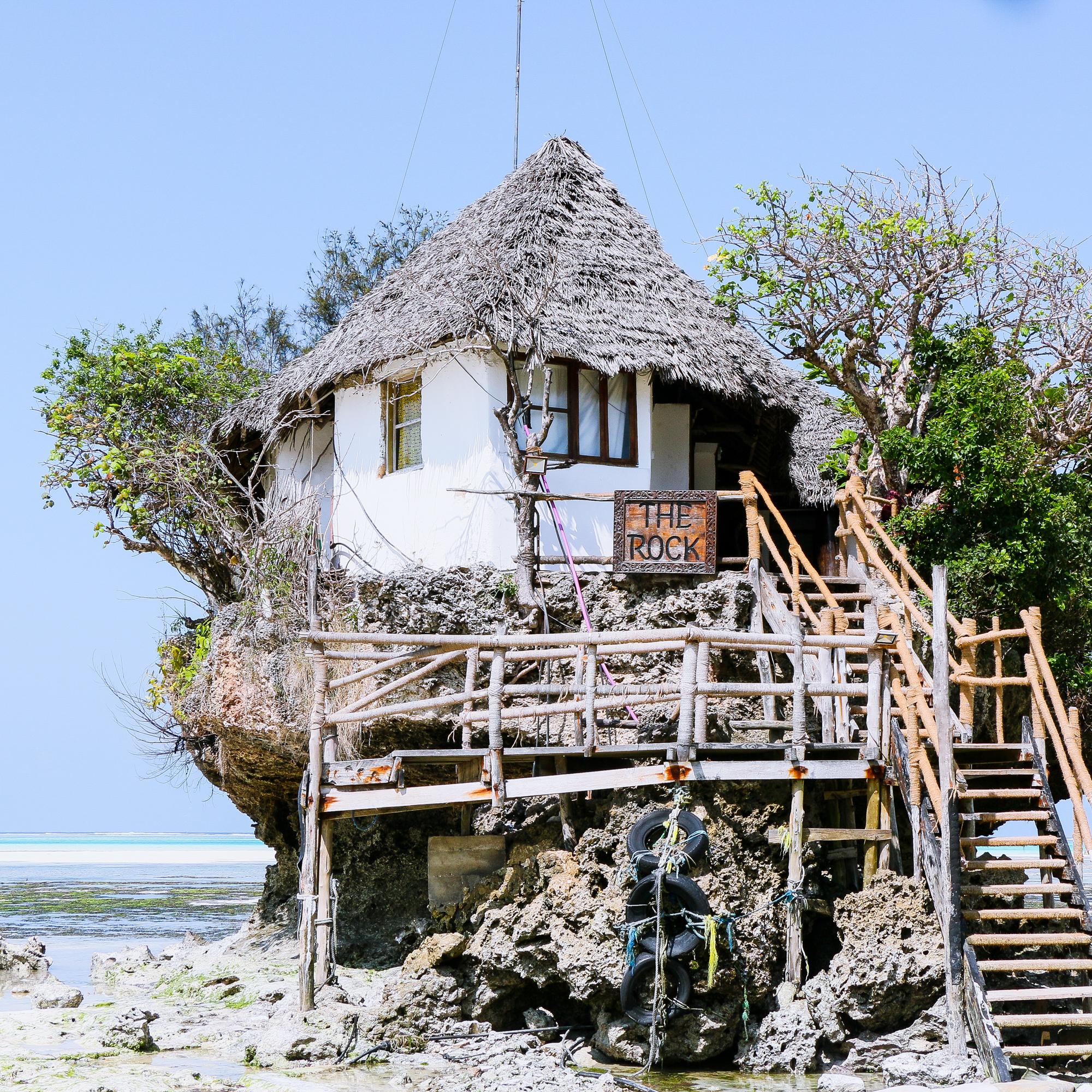The Rock Restaurant, Pingwe Zanzibar