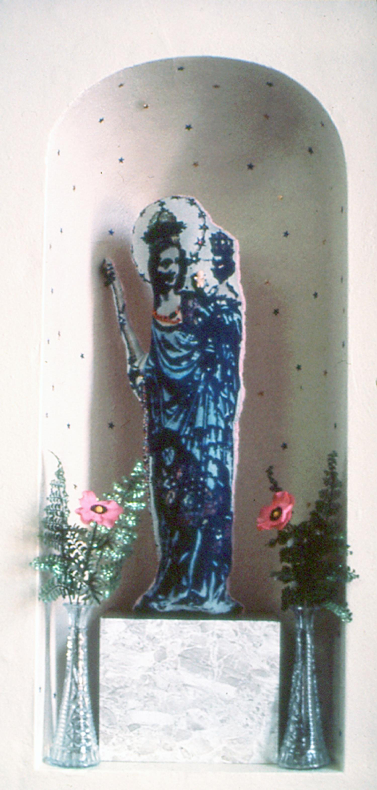 1975  Autel   cyanotype and mixed media