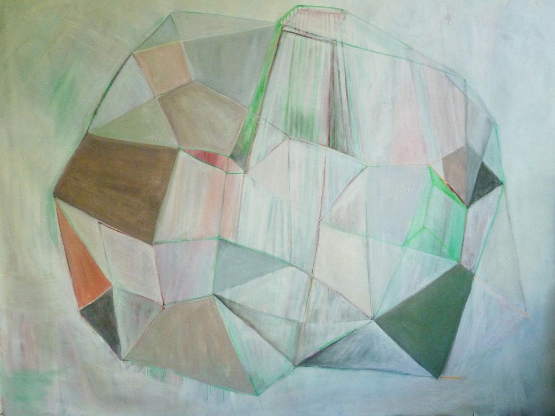 chrysalide  oil on canvas 2016