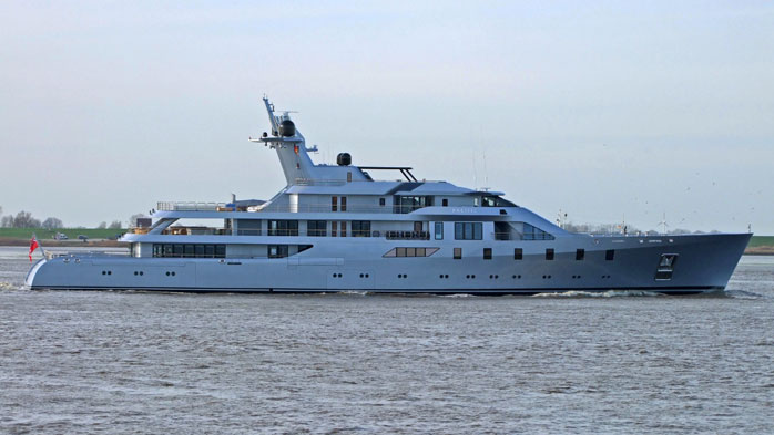 85m Pacific build by Luerssen