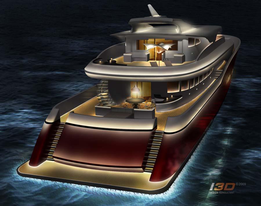60m Motoryacht with DLBA