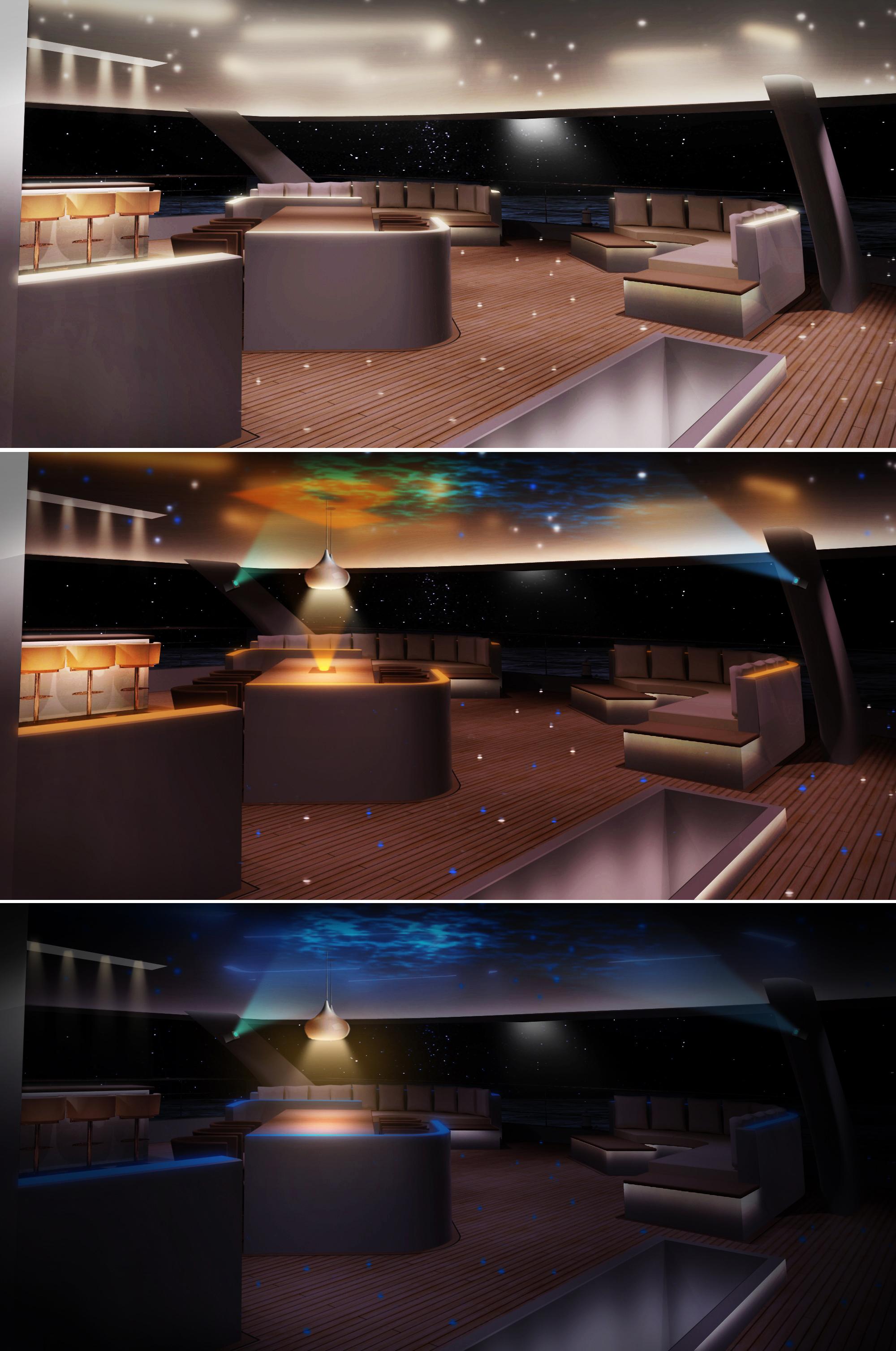 Motoryacht: Confidential Yacht Exterior Aft Deck