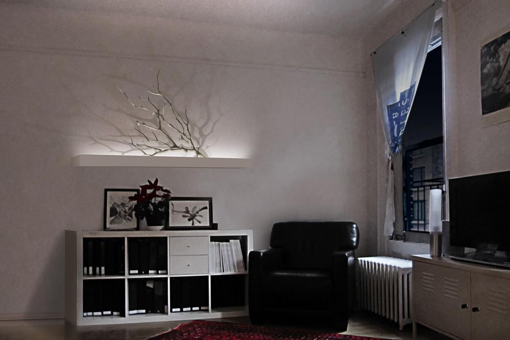 Modular Lighting Shelf Development