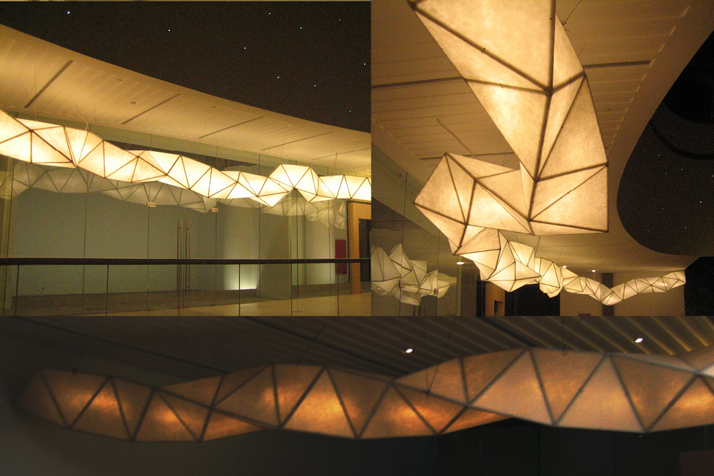 Taikoo Hui Lighting Sculture Development