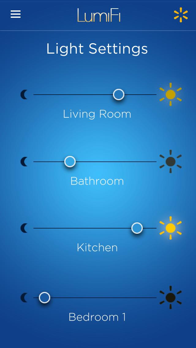 Walmart Pitch for Lighting Control App