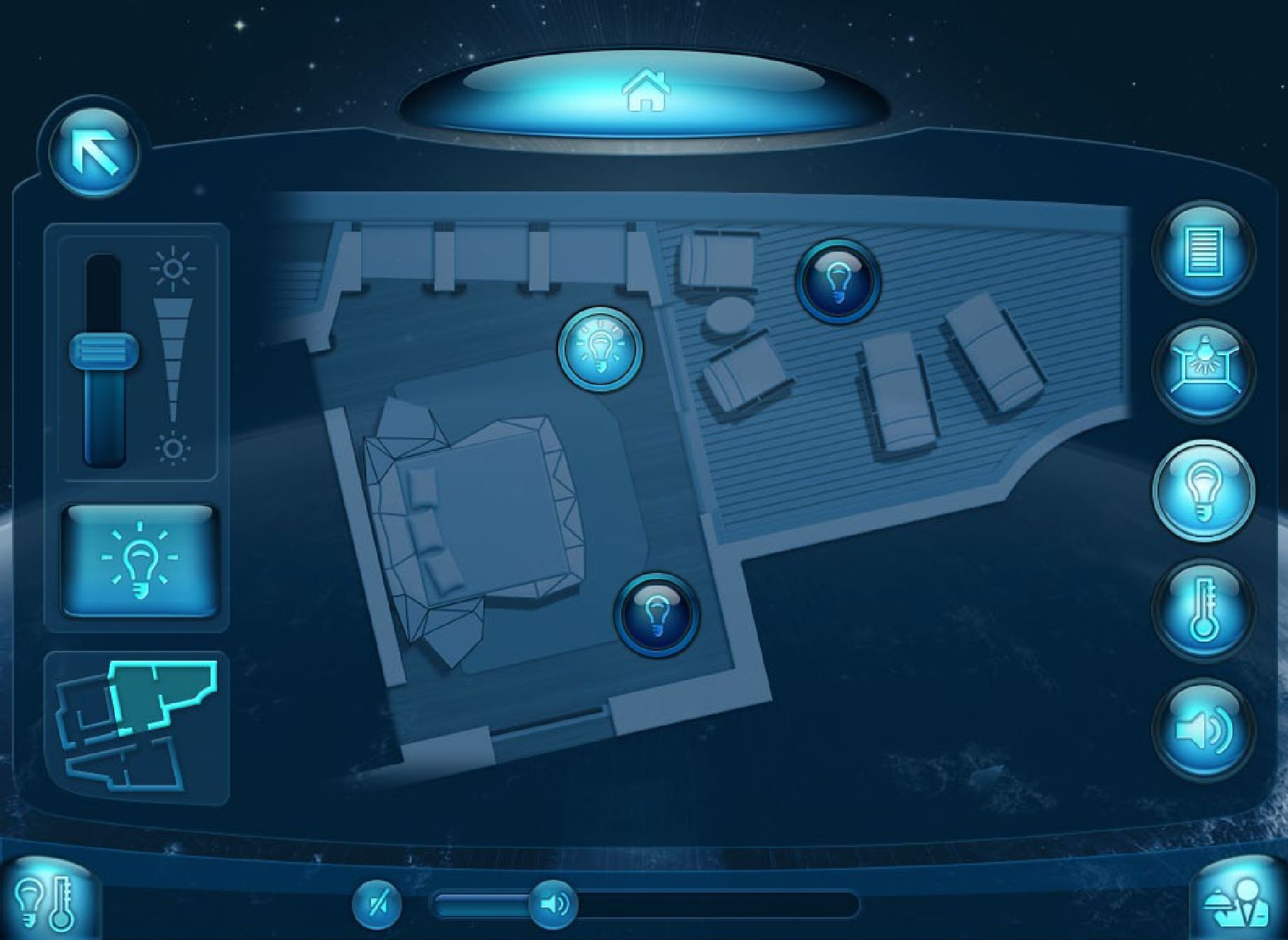 Room Control Interface Overview