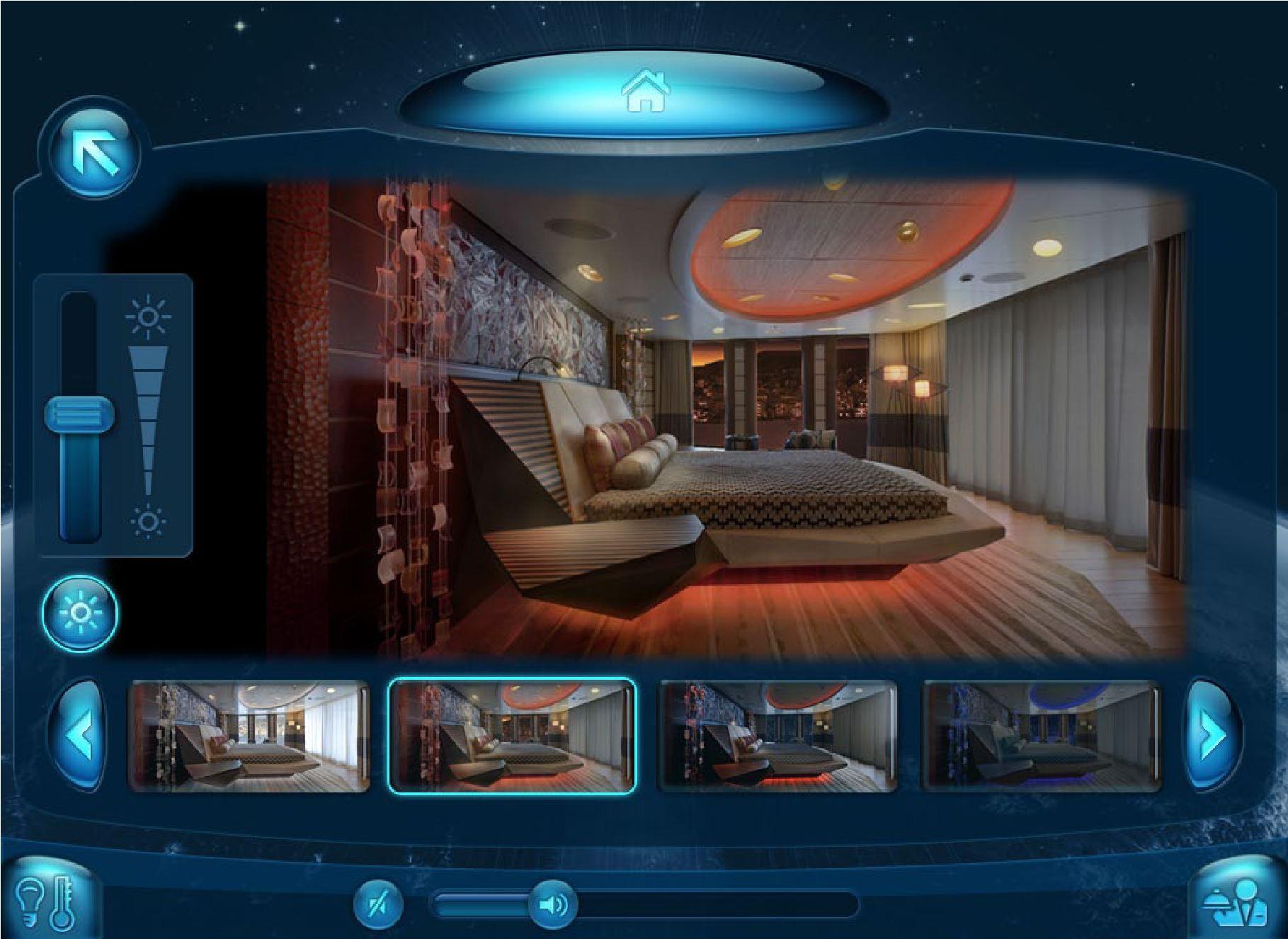 Individulual Room Control by Lighting Mood