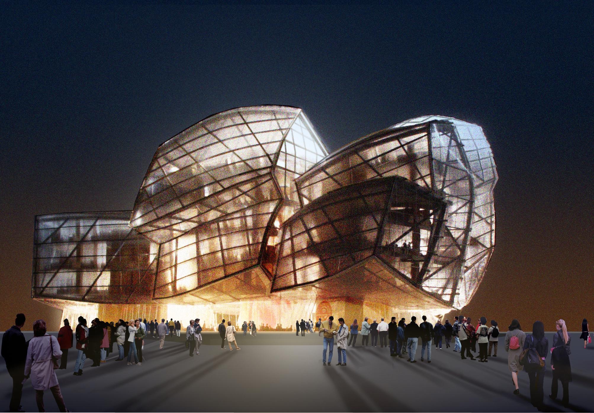 Frank Gehry's Novartis Headquarter