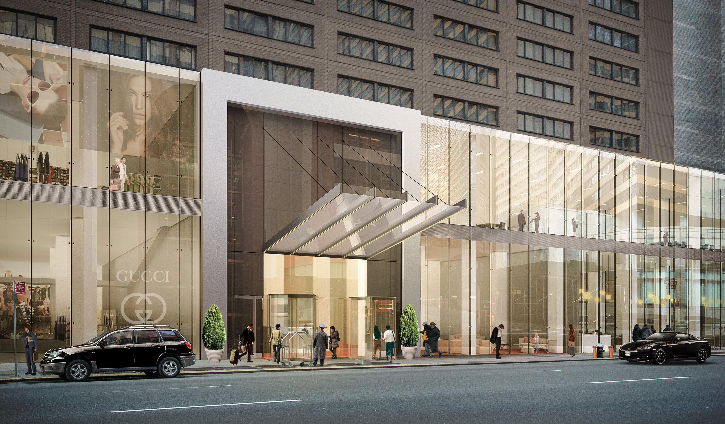 Manhattan Retail Facade Proposal (2014)