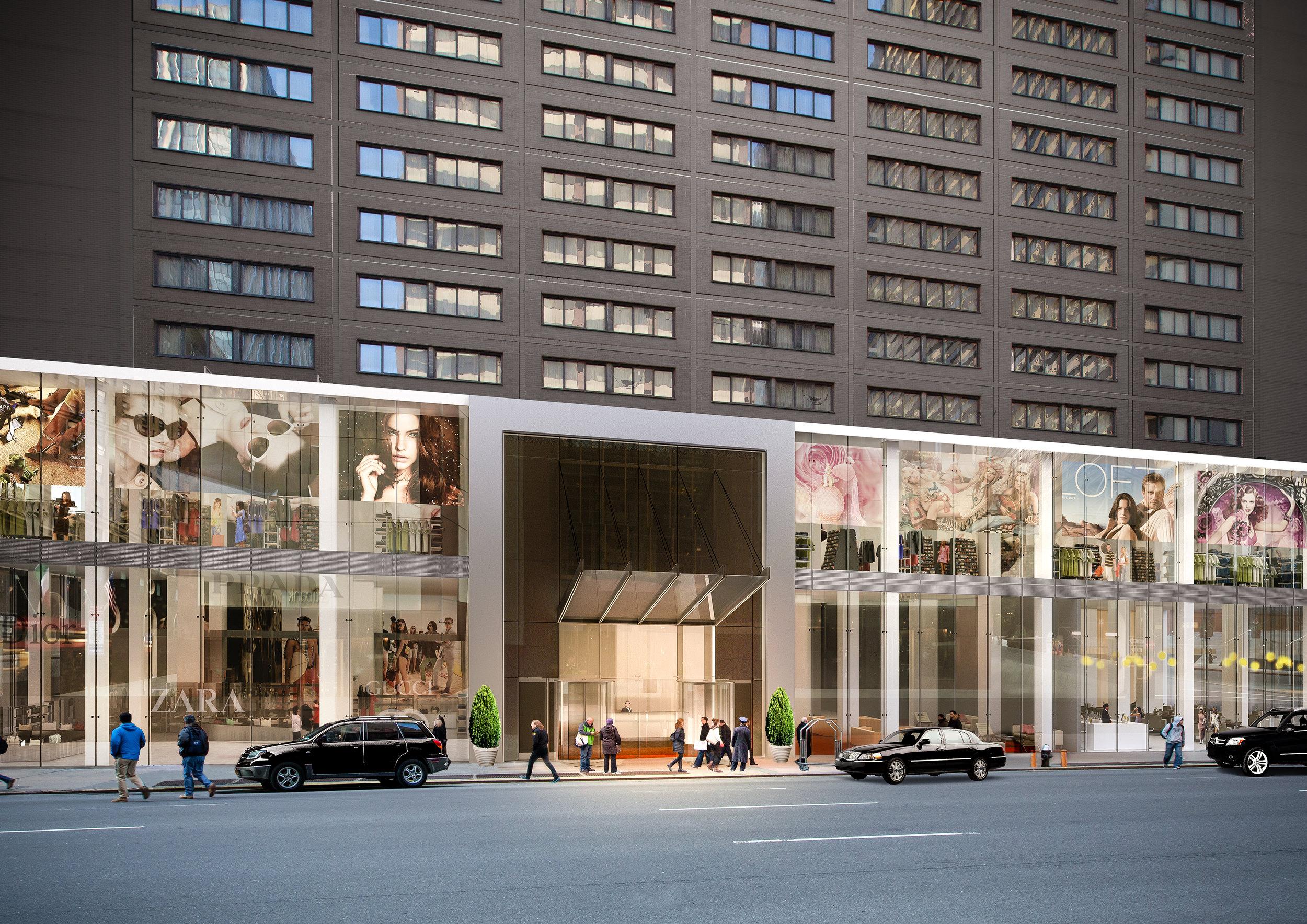 NYC Retail Facade Proposal - Opt 3