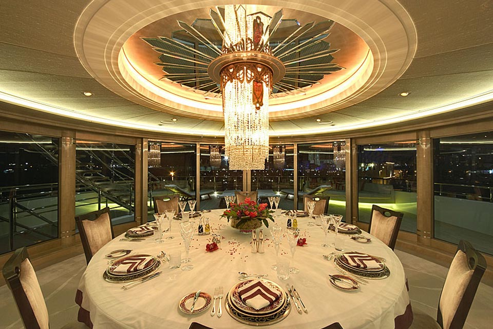 79M M/Y AMARYLLIS - Exterior & Interior Lighting Design