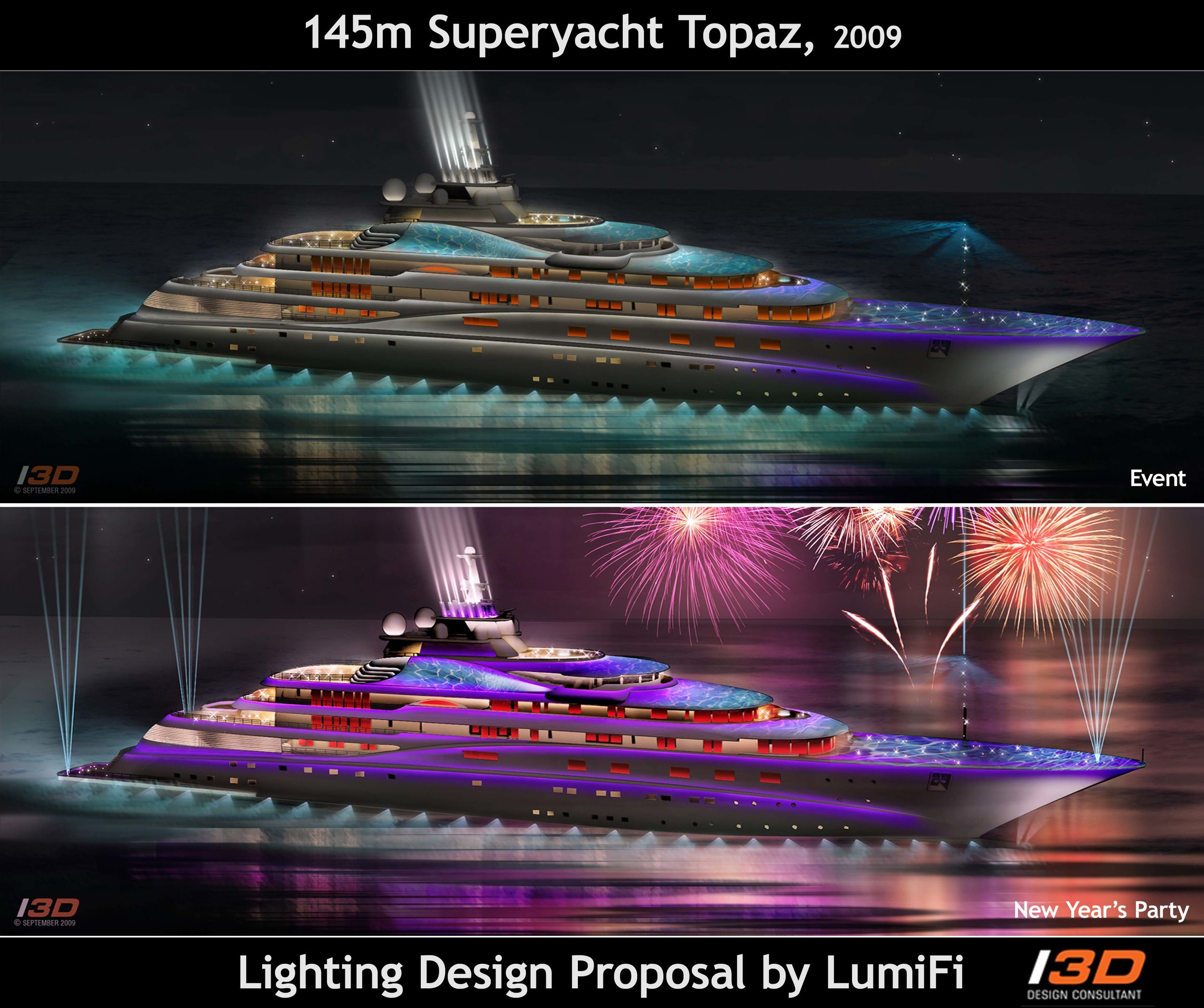 145M TOPAZ - Exterior Lighting Design Proposal