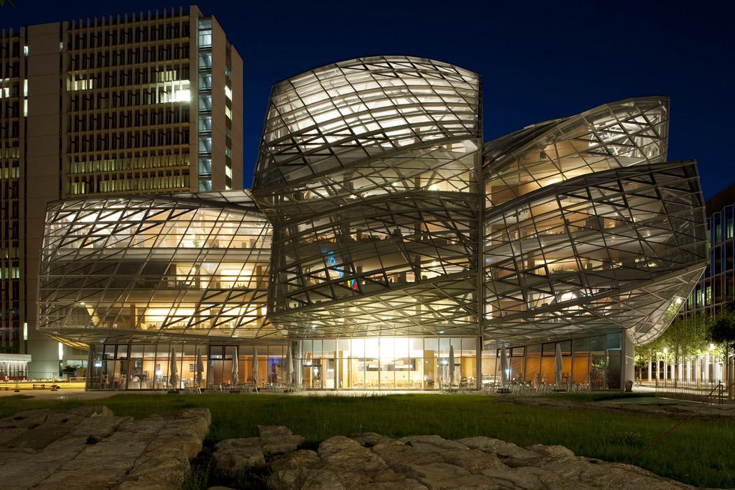 Frank Gehry Office Building; Fabrikstrasse 15 in Basel, Switzerland