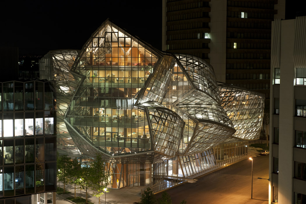 Frank Gehry Office Building; Fabrikstrasse 15 in Basel, Switzerland