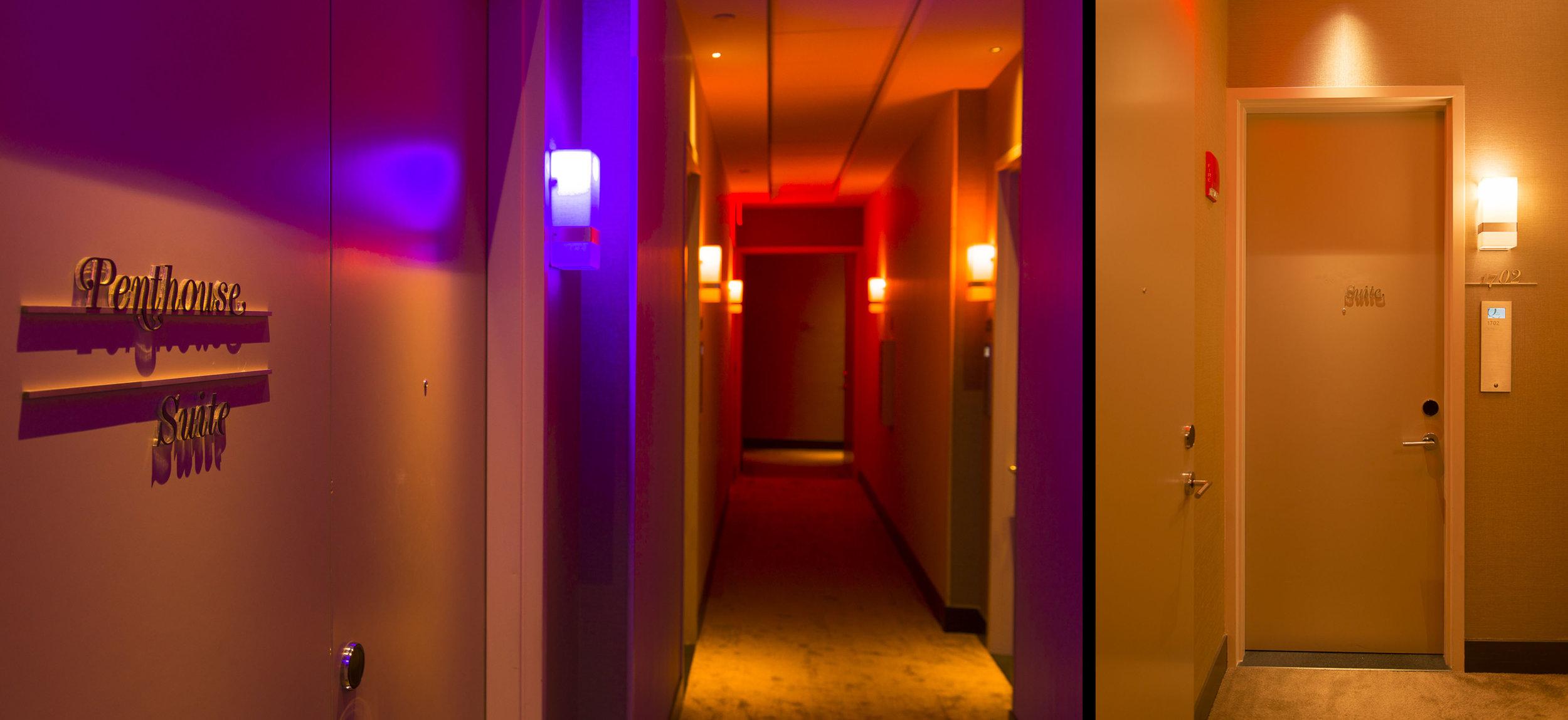 LumiFi Hotel Corridor Installation