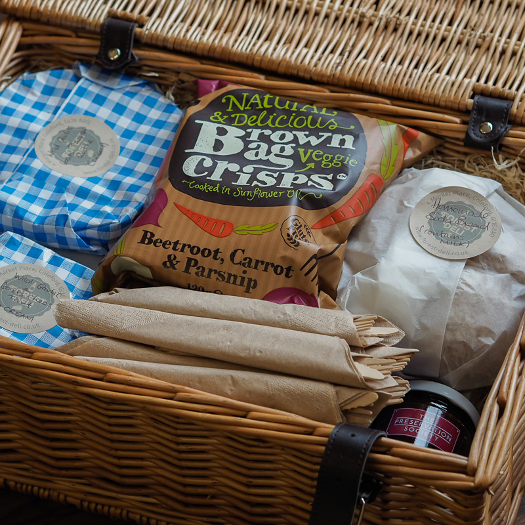 Let us put together a fabulous picnic full of local Gloucestershire food delights and homemade bakes