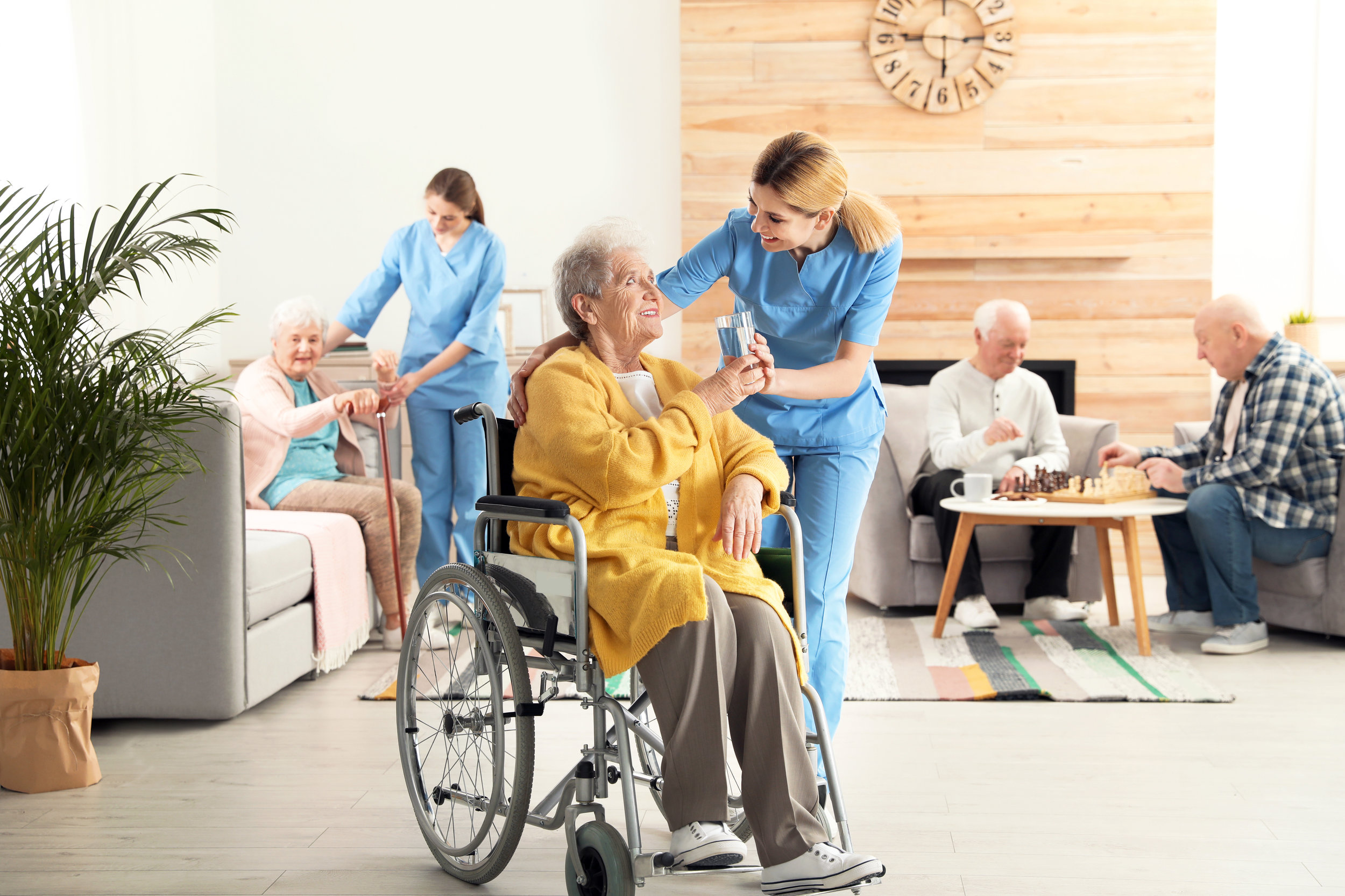 Skilled Nursing - AptusCare solutions help coordinate the care delivered by skilled nursing facilities to improve their quality and financial outcomes.