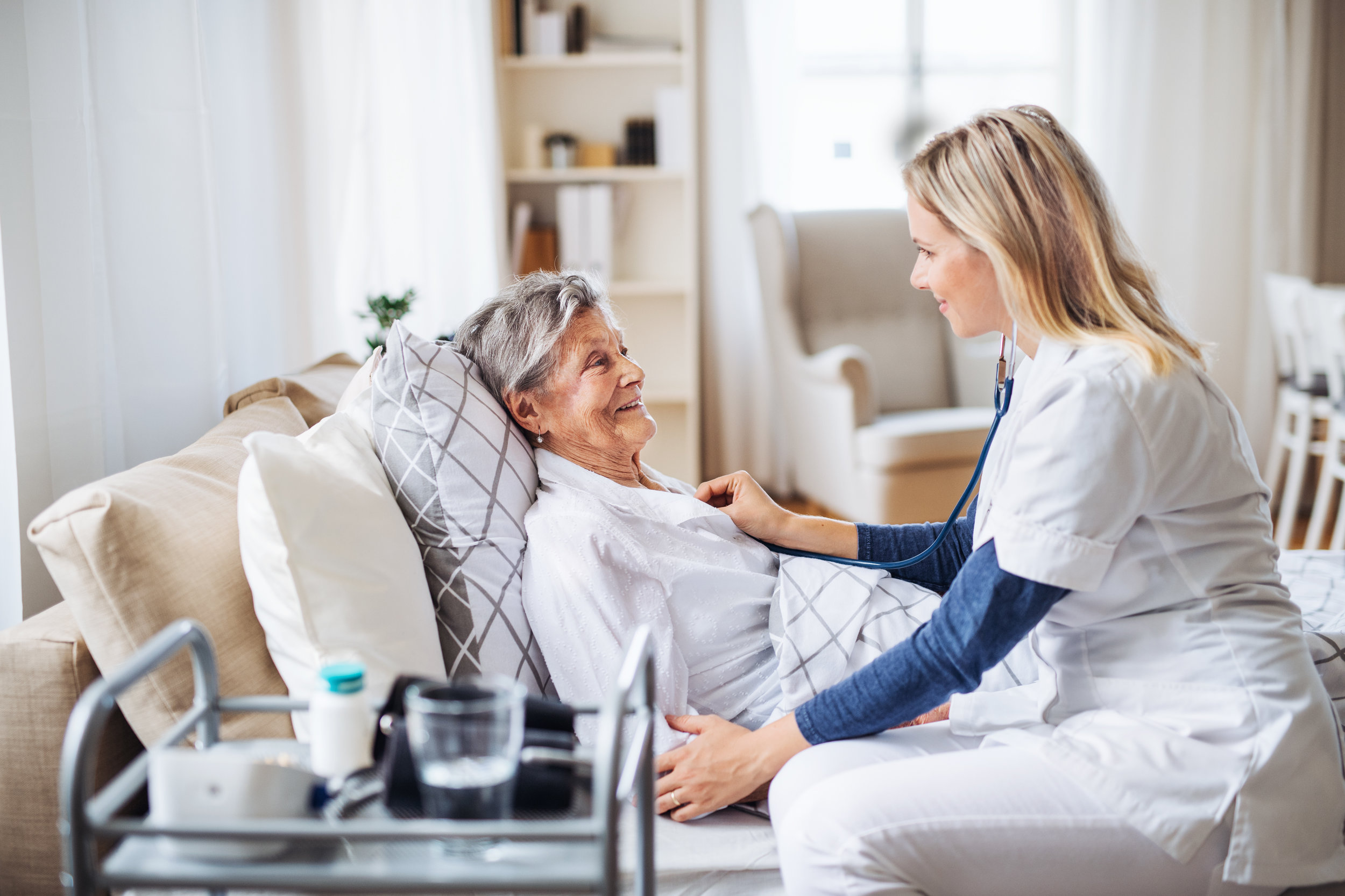 Home Health - AptusCare offers solutions to streamline care even in the comfort of the patients' home.