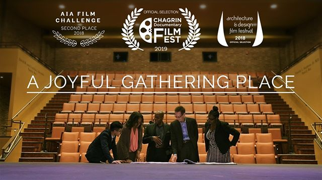 We are happy to announce our short documentary, A Joyful Gathering Place, was officially selected for 2019 Chagrin Documentary Film Festival in October! We couldn't have done it without the support of @rpmiarchitects and @karamuhouseinc