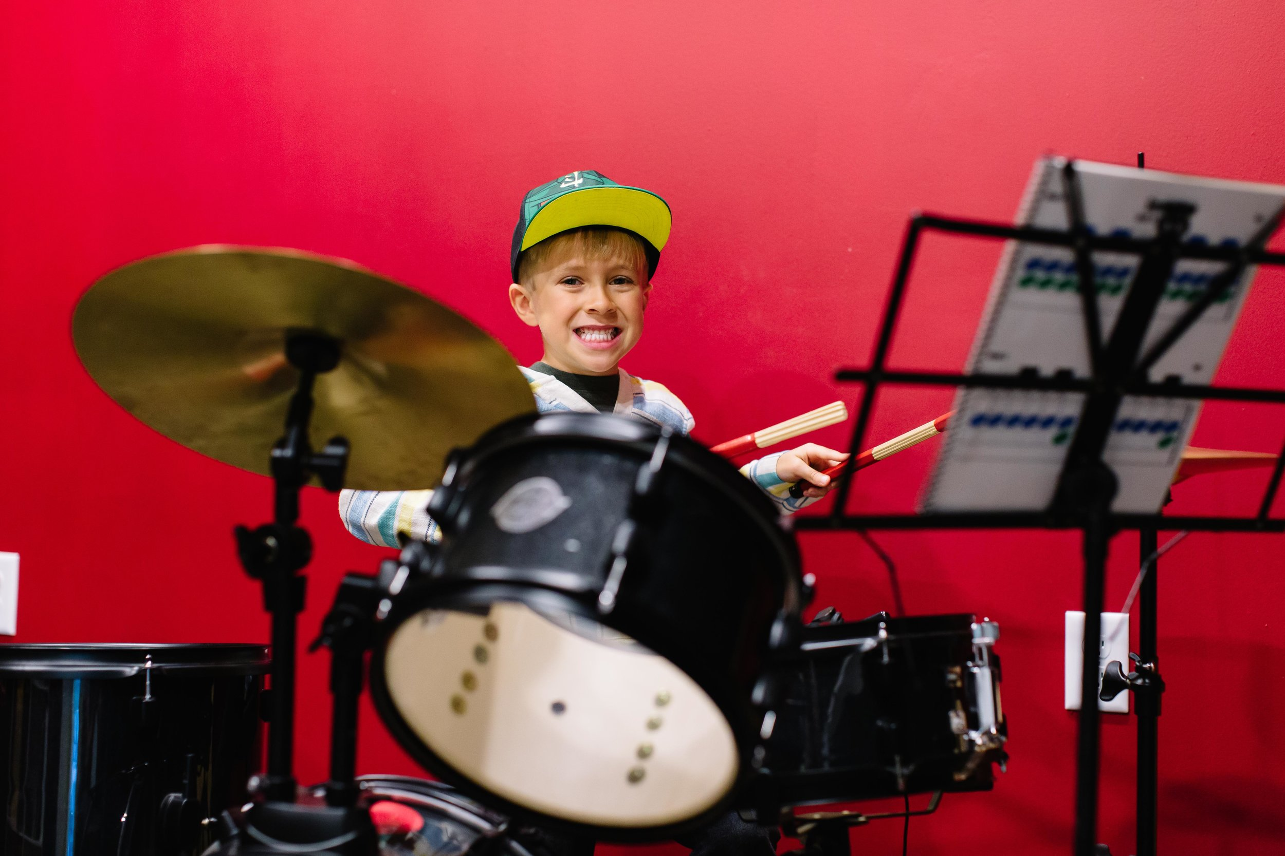 - Drum Lessons your kids will thank you for!