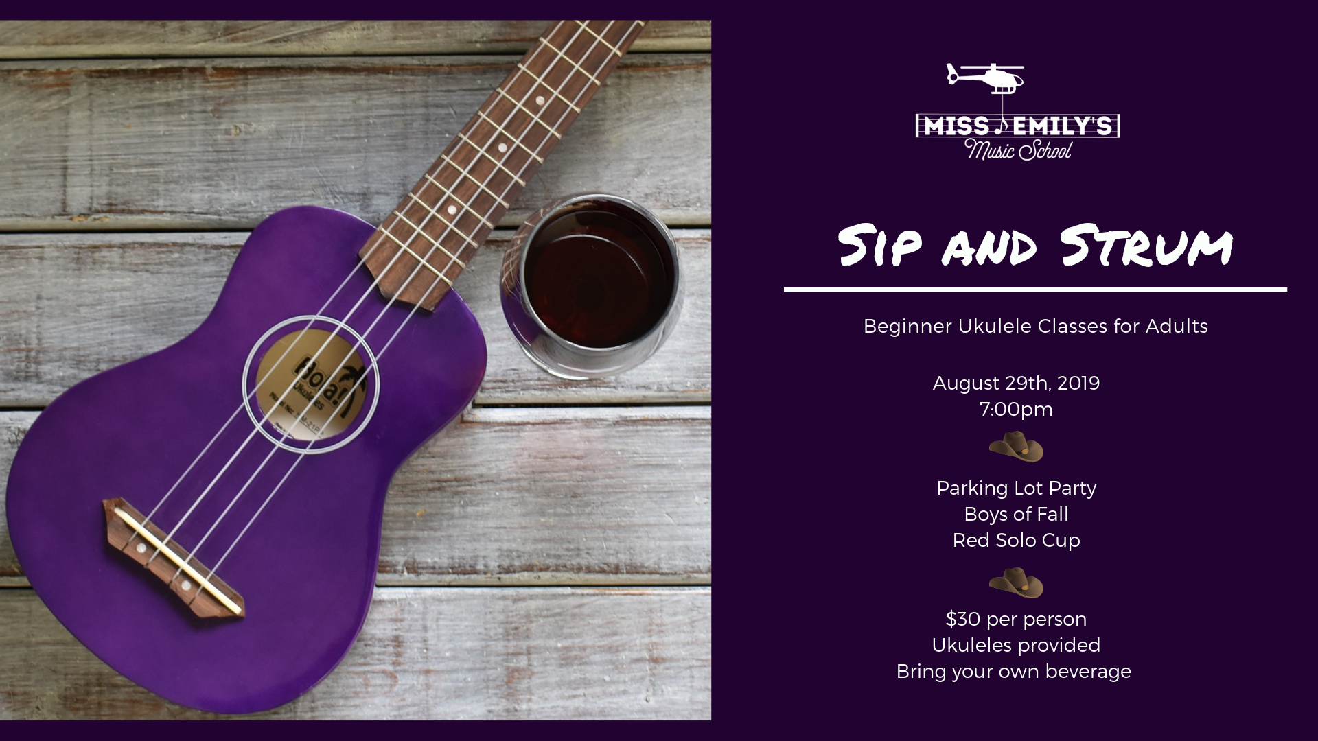sip and strum ukulele classes manhattan ks