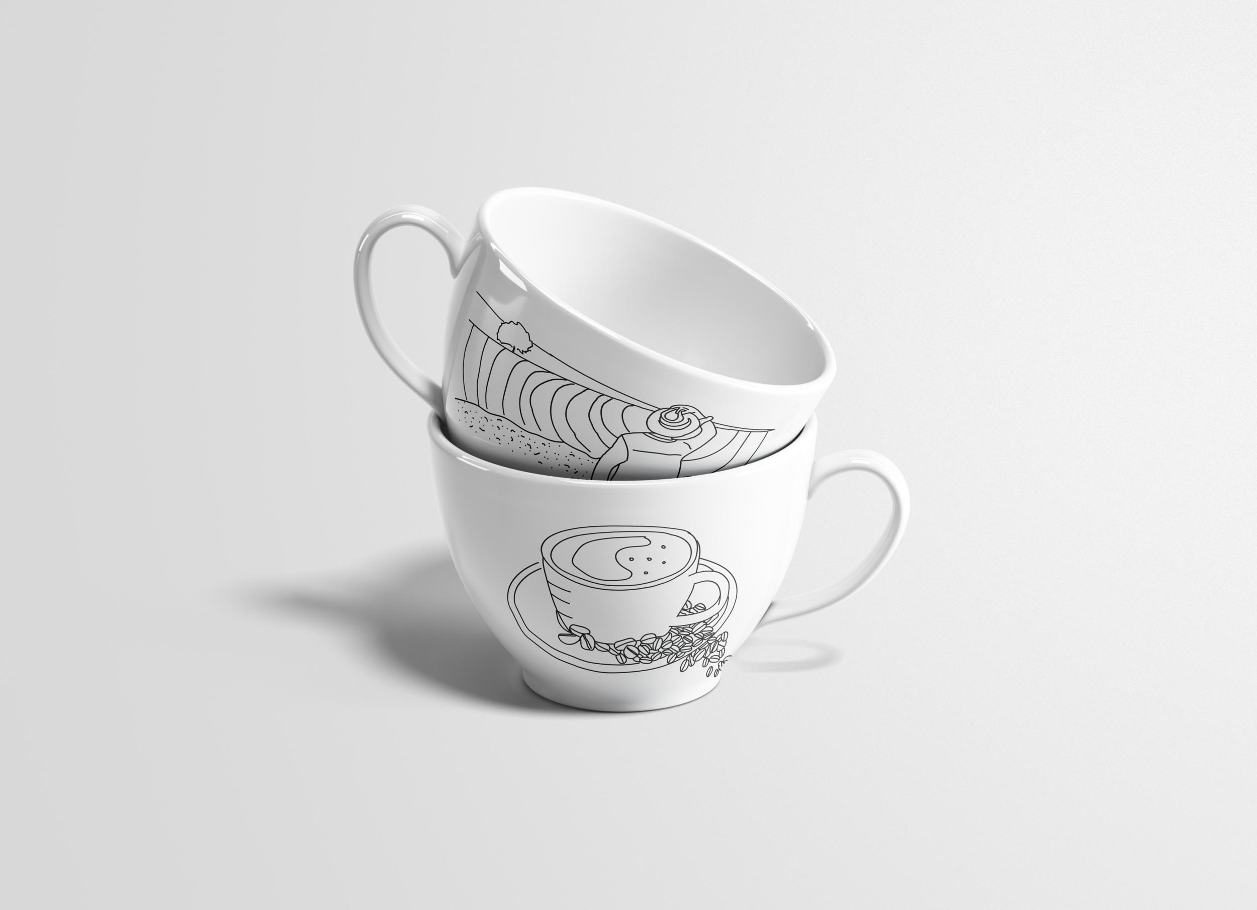 Zio Coffee - Branding, Illustration