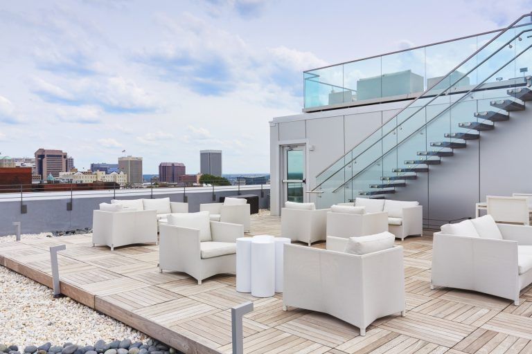 50 Top Rooftop Bars Around the World - Quirk Hotel's Rooftop bar was named one of the 50 best rooftop bars in the country by U.S NEWSVIEW ARTICLE