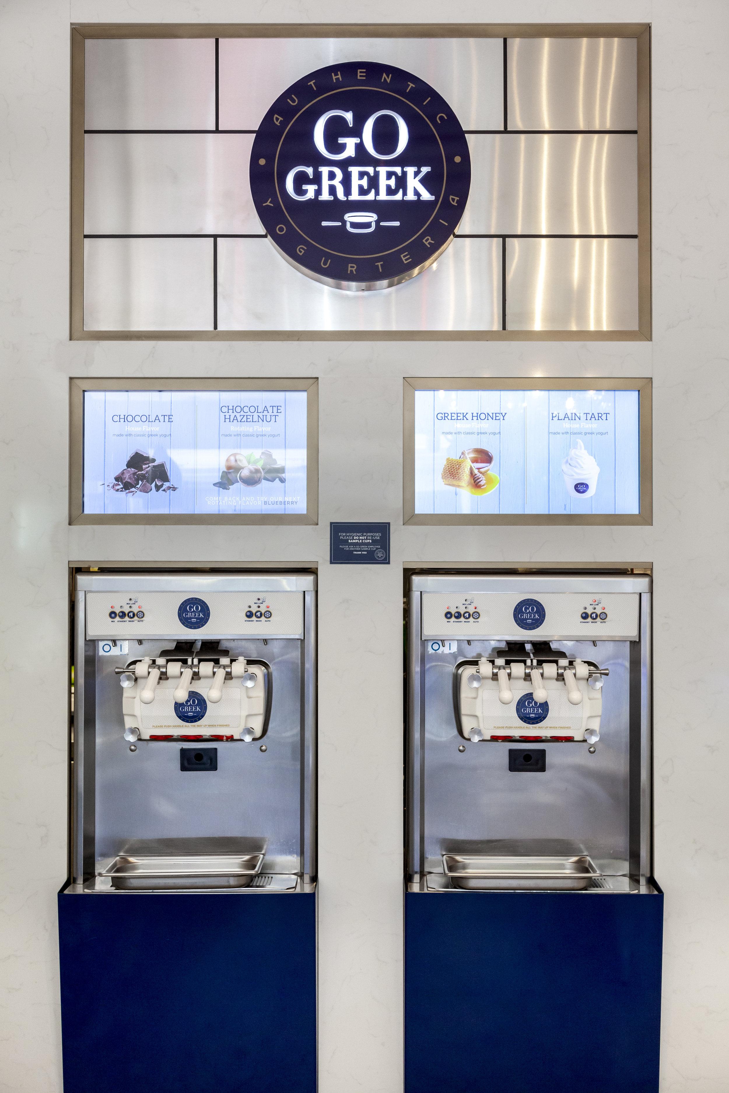 Frozen Yogurt Franchising-Go Greek Yogurt