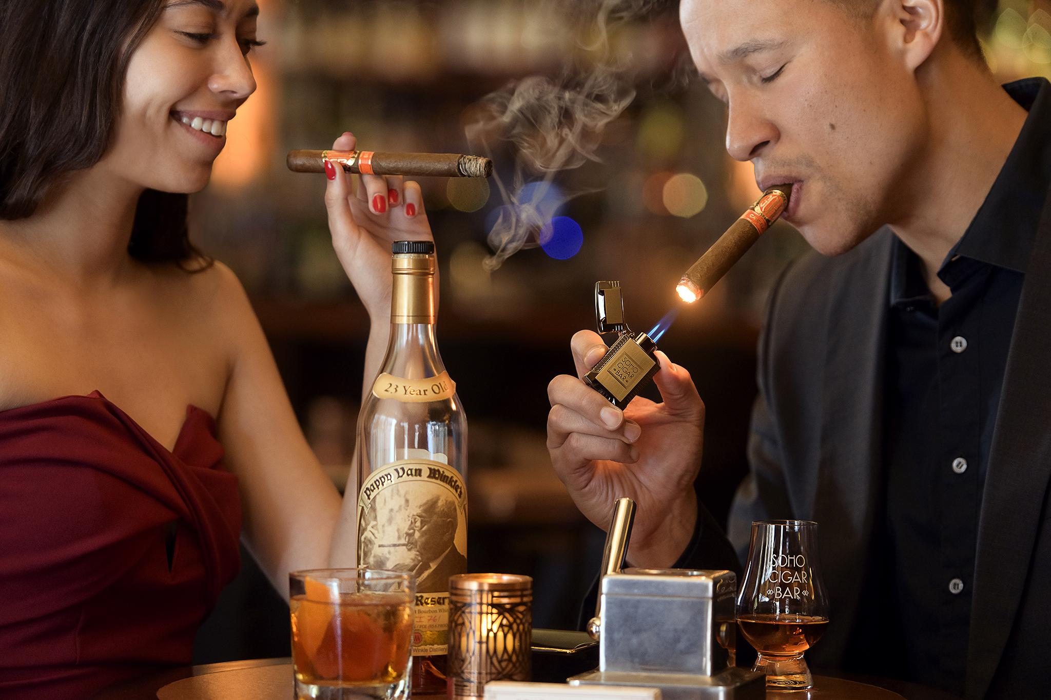 SOHO CIGAR BAR — SOHO CIGAR BAR
