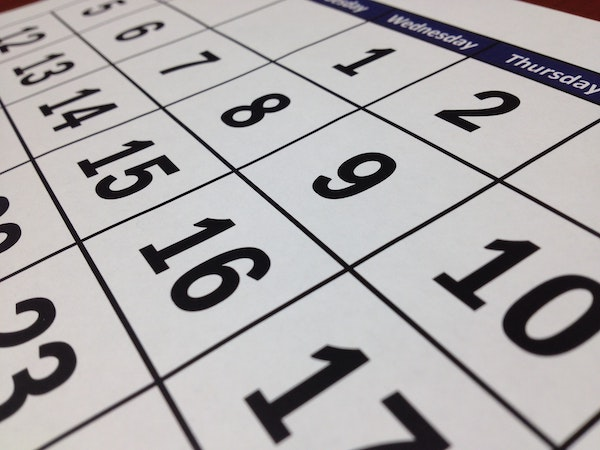 Training Calendar - See which classes are coming up and when.