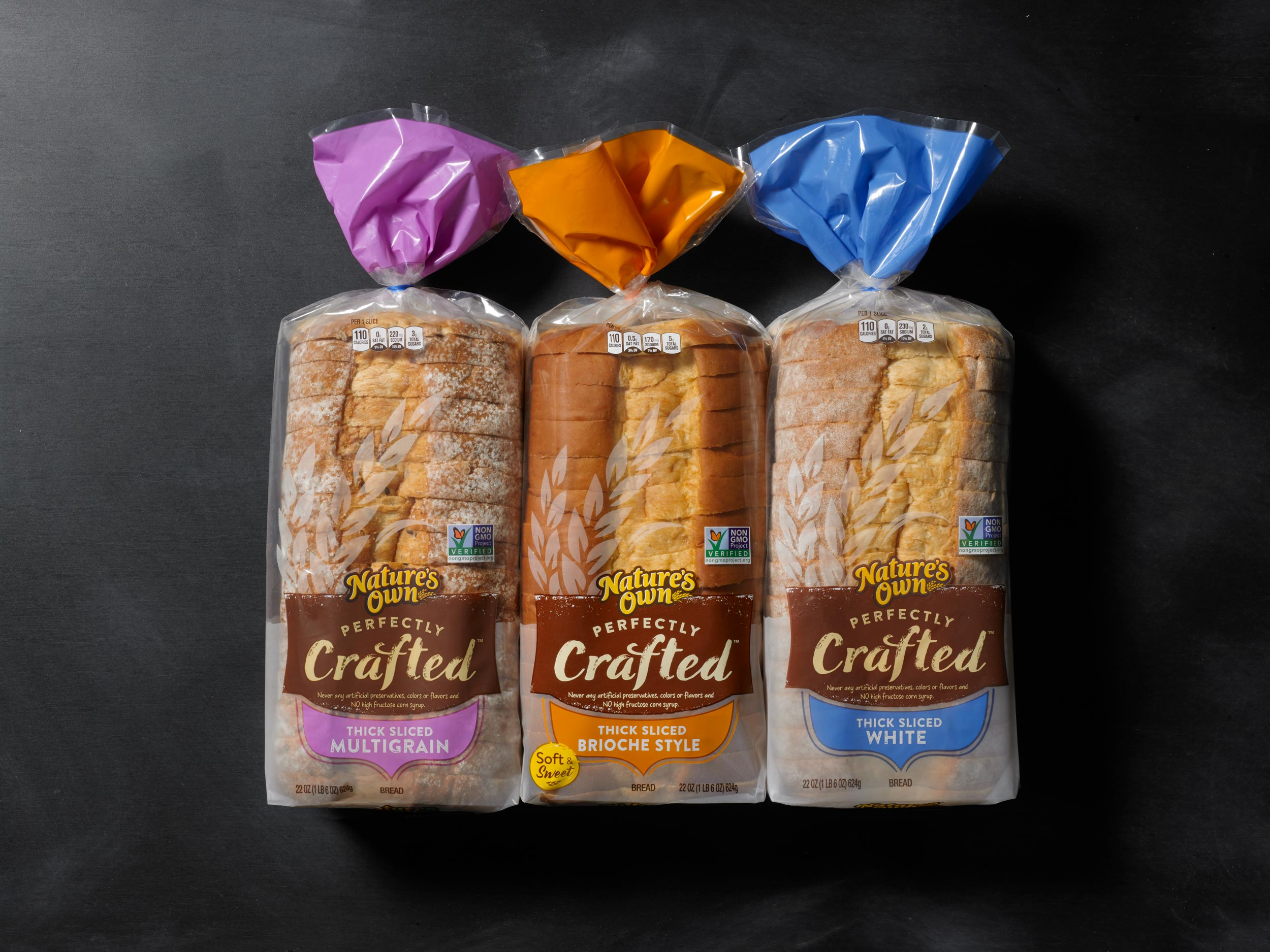Perfectly Crafted Bread - With Bakery Style soft, thick cut slices