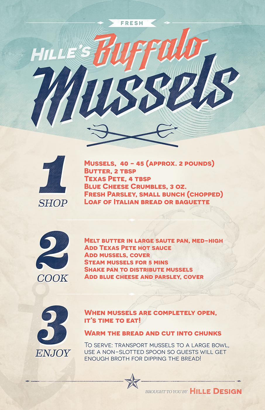 Hilles Buffalo Mussels