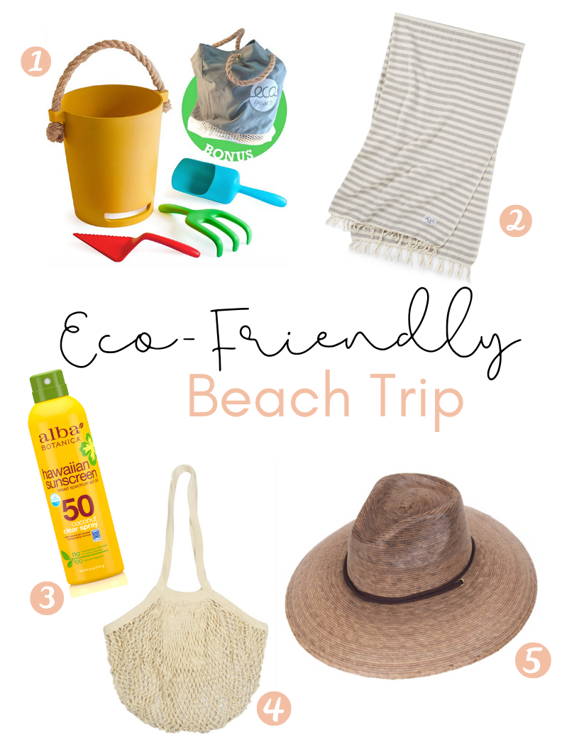 Eco-Friendly Beach Trip Must Haves @ Minimelist.co/blog/beach