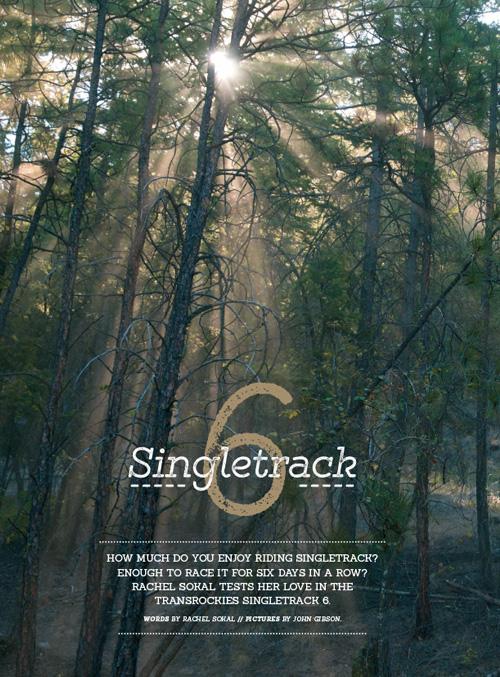 Singletrack UK, Fall 2015