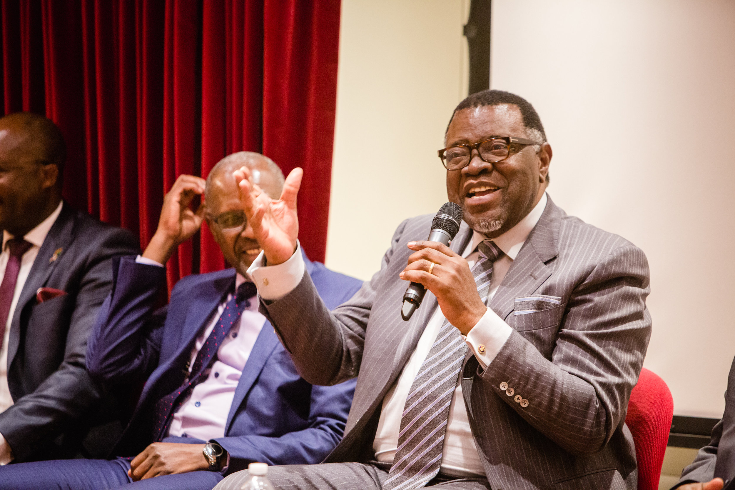 Namibia Commerce and Prosperity Forum with H.E. Dr. Hage G. Geingob, President of the Republic of Namibia