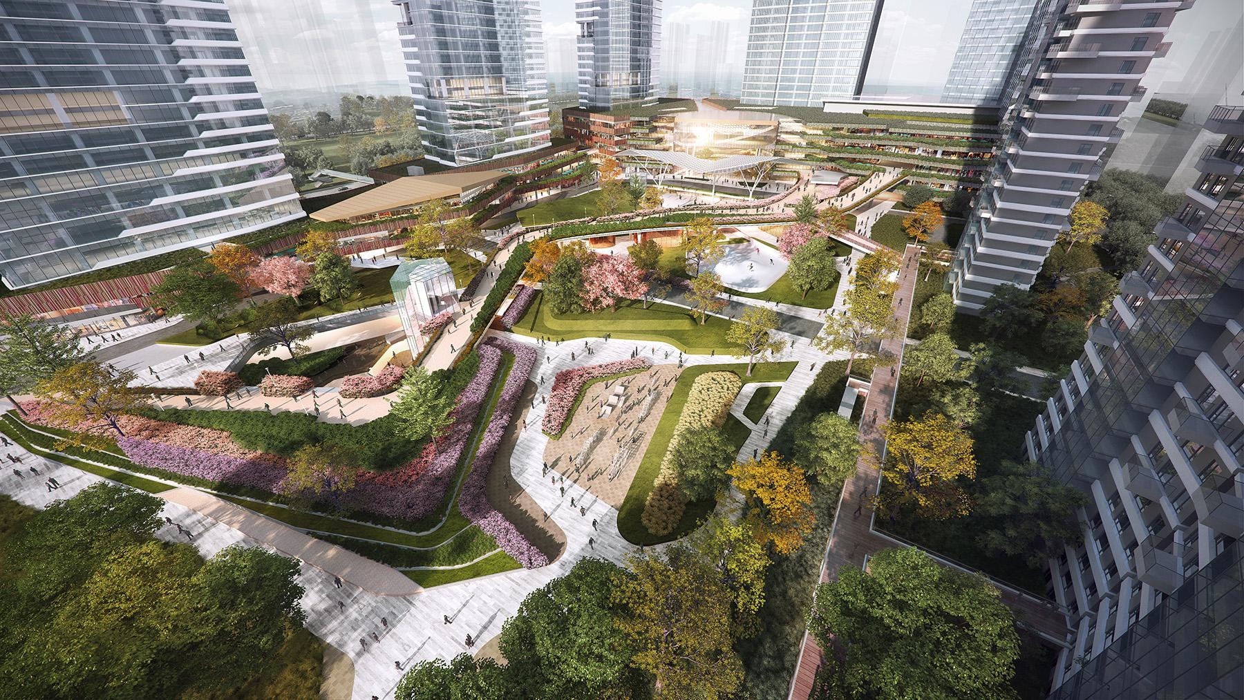 XIAN KANG PARK - XIAN, CHINA