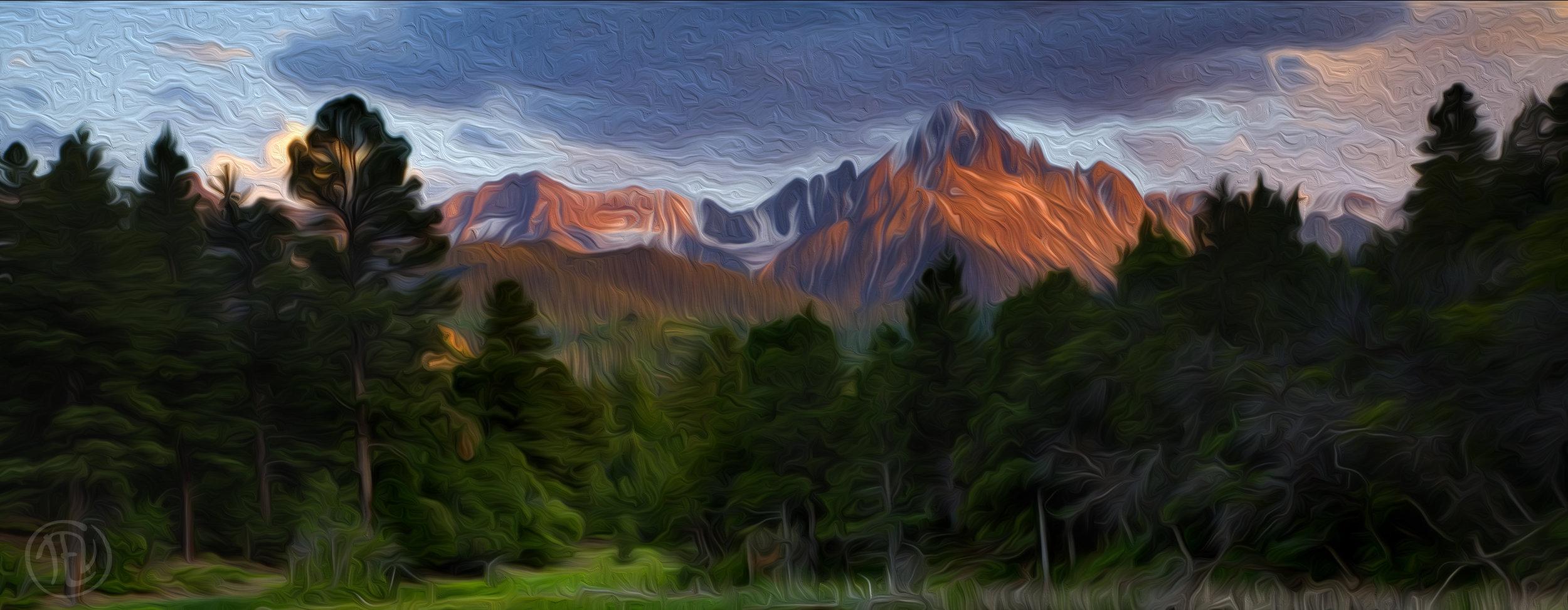 Sneffels Sunset