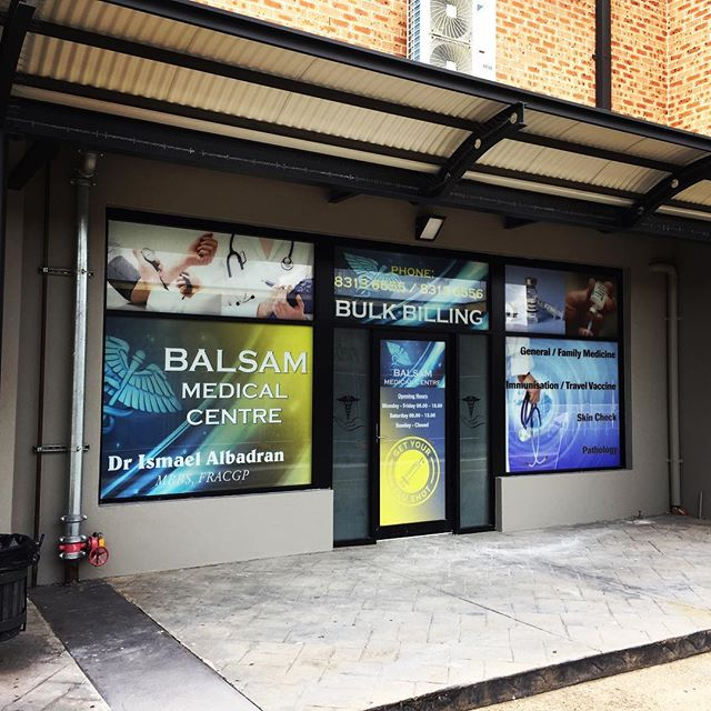 New shopfront finished off this morning.. #printing #install #medicalcentre #stickers #arlon #windowfilm