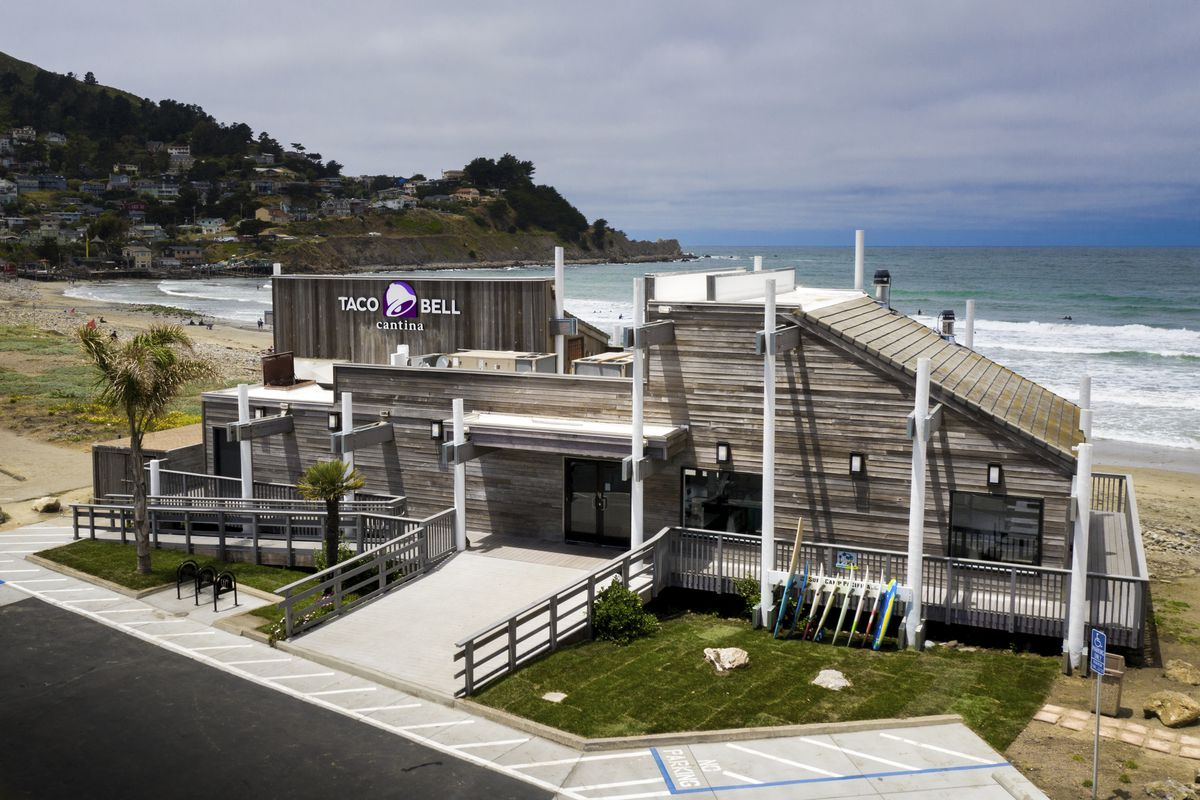 Taco Bell Cantina in Pacifica, California