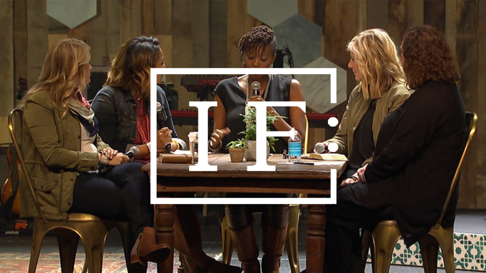 IF: Gathering - IF: Gathering is a national network of thousands of women across the world who come together to be reminded that following God and making disciples is absolutely worth our time and energy. Redeemer is a host site for IF: Gathering each year for the Austin area.