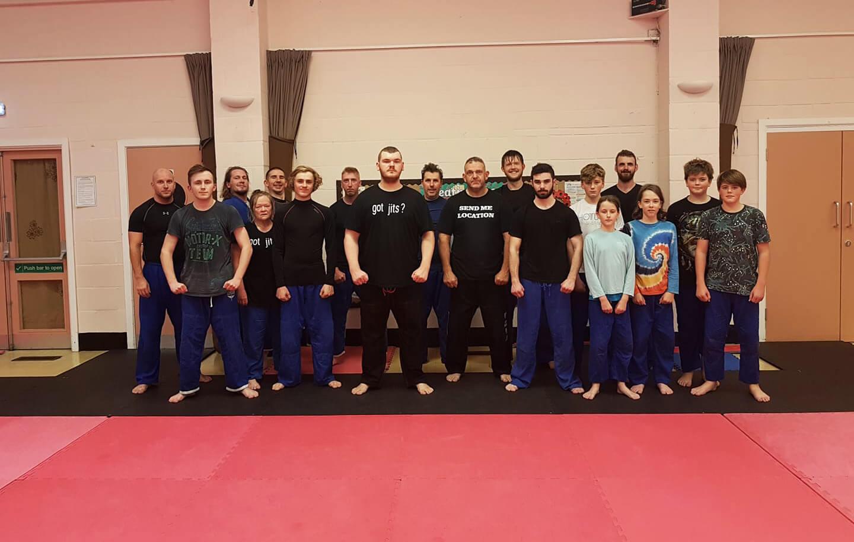 New Forest Jiu-Jitsu students 2018