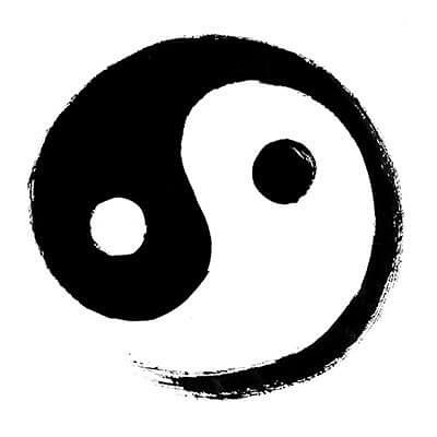 Yin Yang, the symbol of Tai Chi.