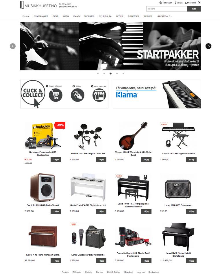 Tilbehør… - Vi har tilbehør til alle instrumenter som vi selger gjennom vår nettbutikk Musikkhuset.no