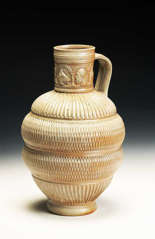 Self-portrait jug