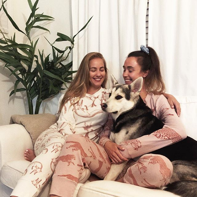 what do we love more than the comfiest loungewear clothes ever? A brand that gives proceeds to animal welfare! @loveallthingsfabulous DOGTOWN collection is paying it forward to @theanimalrescuemission this month // shop online now! 🙏🏽🦊🐆