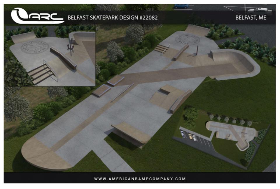 Preliminary design for Overlock Park