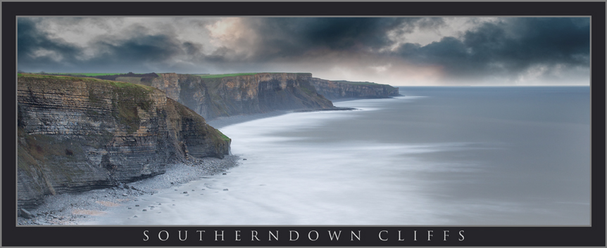 SOUTHERNDOWN CLIFFS PANORAMIC; OGMORE; SOUTH WALES LANDSCAPE PHOTOGRAPHY; BUY PHOTOS OF SOUTHERNDOWN SOUTH WALES; BUY CANVAS OF WALES LANDSCAPE IMAGES.jpg
