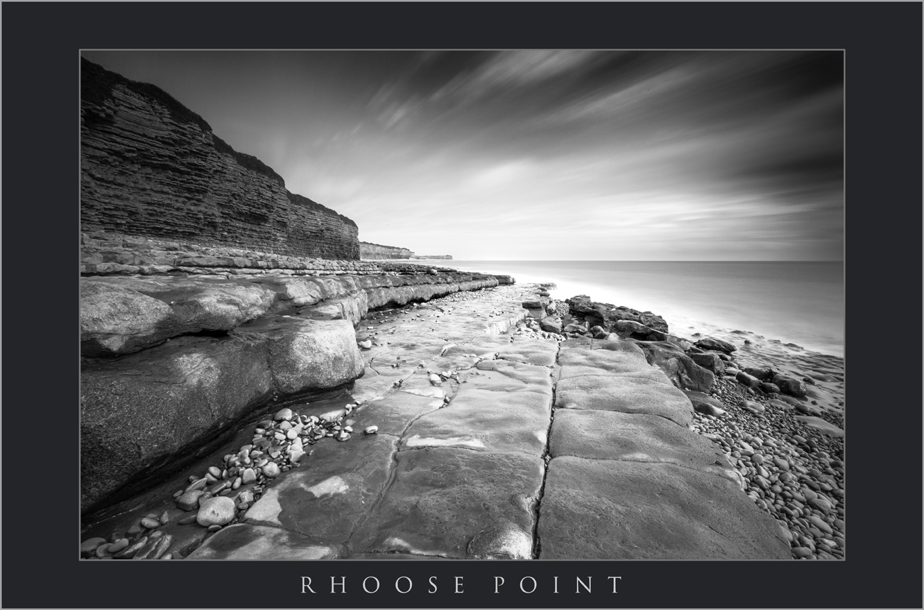 RHOOSE POINT IMAGES; PHOTOGRAPHY AT RHOOSE POINT SOUTH WALES; BUY BLACK AND WHITE PHOTOGRAPHY OF RHOOSE POINT; WALES COASTAL PATH RHOOSE.jpg