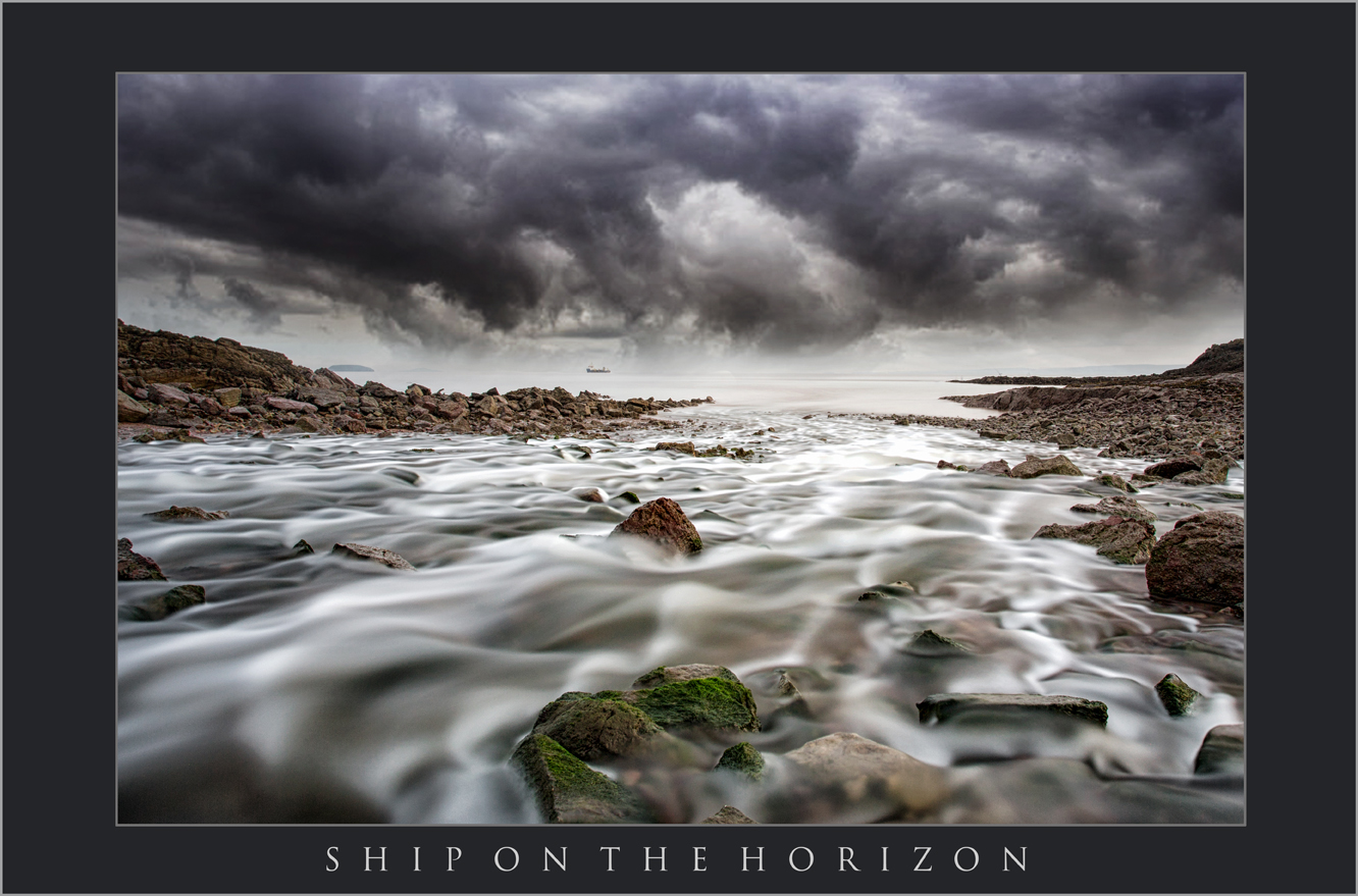 SHIP ON THE HORIZON; BENDRICK RIVER BARRY, BARRY; SOUTH WALES LANDSCAPE PHOTOGRAPHY.jpg
