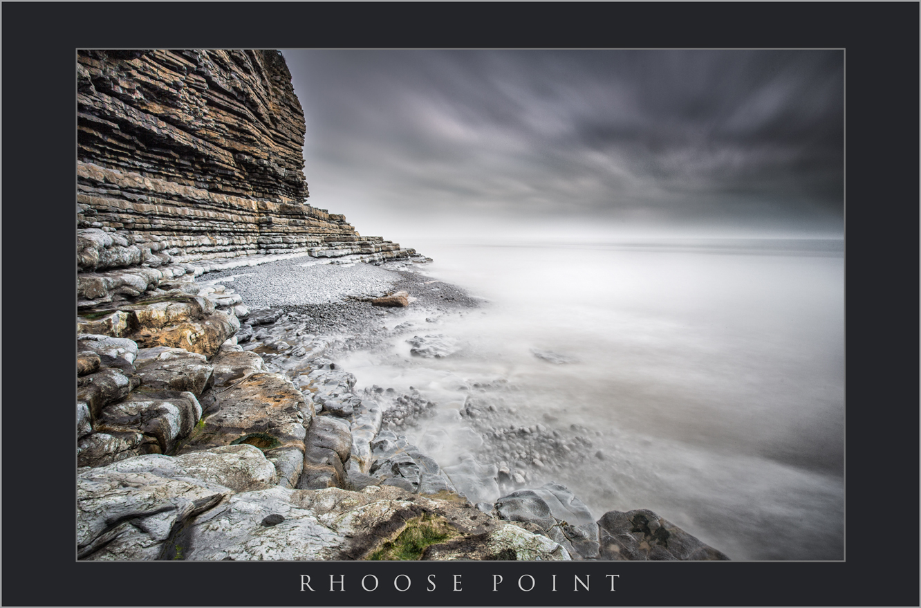 RHOOSE POINT IMAGES; PHOTOGRAPHY AT RHOOSE POINT SOUTH WALES; BUY BLACK AND WHITE PHOTOGRAPHY OF RHOOSE POINT; WALES COASTAL PATH RHOOSE; STORMY PHOTOS (1).jpg